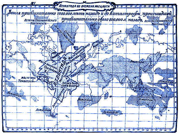 Edgar Casey Map Edgar Cayce on Atlantis   A.R.E. of New York Edgar Cayce Center  Edgar Casey Map