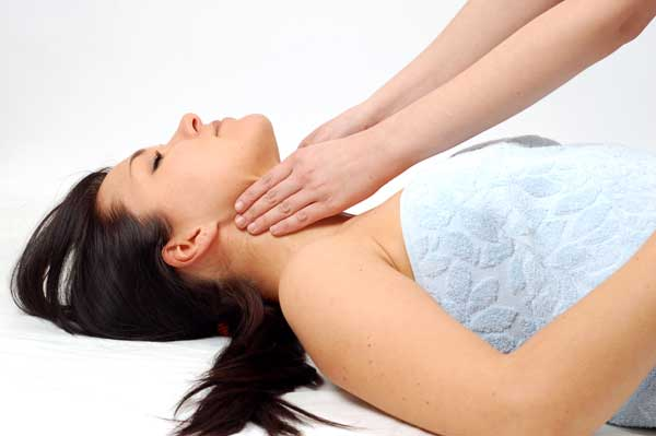 wellness practitioner massage