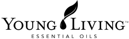 young living logo bw