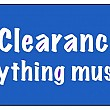 Final Center Clearance Sale, Everything Goes! Friday - Sunday, June 29, 30 & July 1