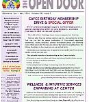 Read the latest OPEN DOOR Newsletter (Jan-Mar 2014) now!