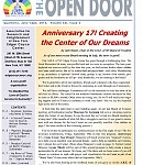 Jul-Sept 2014: Read the Latest Open Door 17th Anniversary Issue