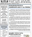 Spring Open Door Newsletter 2013