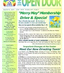Apr-Jun 2018 Open Door Newsletter: Merry May Membership Specials & Gift in the new Open Door! Plus - Earth as a Healer; Gut Health; Sacred Spaces in NYC -- & more!