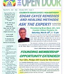 Jan-Mar 2017 Open Door Newsletter: Coupon inside—save $5 on Cayce Remedies workshop with expert Bruce Baar! Stay Well without a Flu Shot