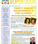 "July-Sept 2017 Open Door Newsletter: 20th Anniversary News, Peter Woodbury - Life Coaching Teacher & ""Bridge Person"", Natural Healing & so much more!"