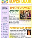 Oct-Dec 2016 Open Door Newsletter: Miracle on 27th Street!, an Urgent Request, a Ghostly Encounter, Helping Loved Ones to Transition, and more!
